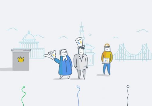 2D animation explainer video for Punahou Connect