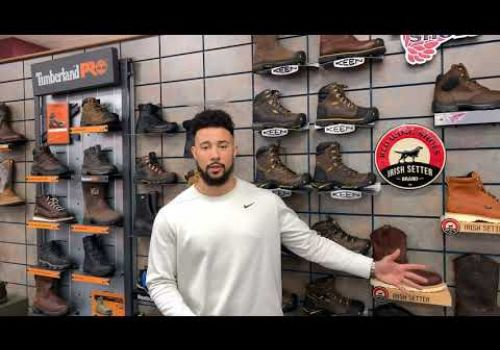 Brown's Shoe Fit Co of Muskogee Video Featuring Work Boots