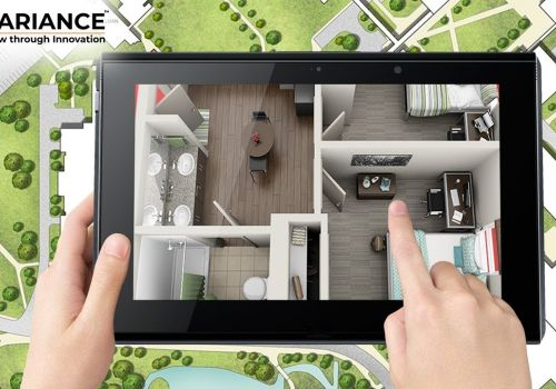 Augmented Reality For Real Estate world with Gaming Style Navigation