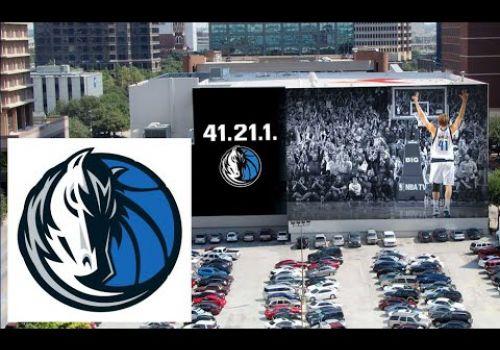 Dallas Mavs Commemorative Dirk Nowitzki AR Ticket