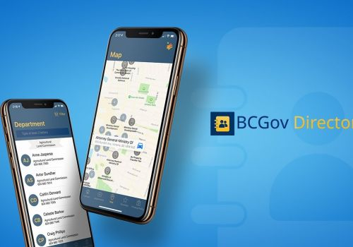 BC Government Directory App Demo