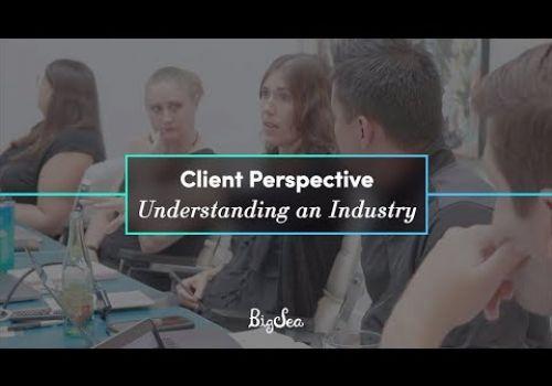 Client Perspective: Understanding an Industry