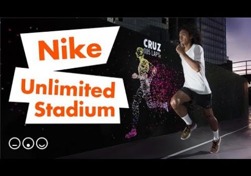 Nike Unlimited Stadium: An Amazing LED Running Track Experience You Will Need to See to Believe