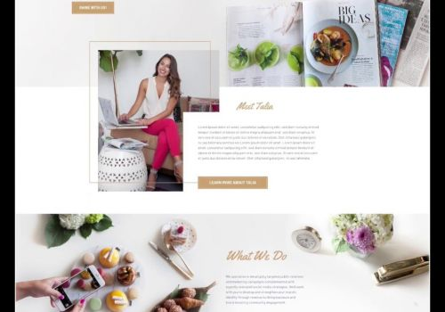 Outshine Website Design