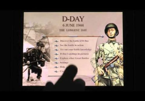 Great Battles app: D-Day 1944