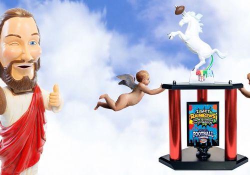 Best Fantasy Football Trophies EVER!  - TrophySmack.com