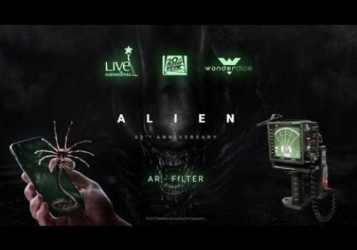 Alien 40th Anniversary AR Filter