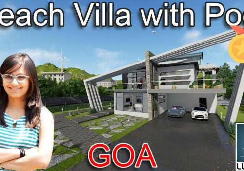 Beach Villa Goa - Unity Interiors