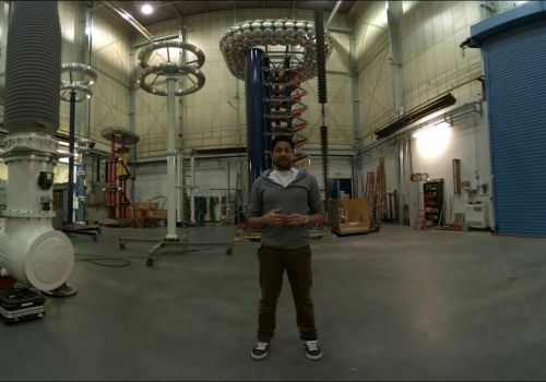 360 tour of The University of Manchester's High Voltage Lab