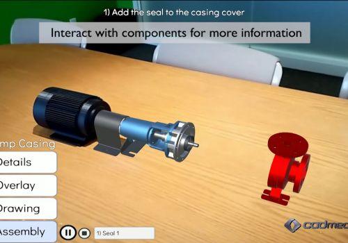 Augmented Reality Pump Demo
