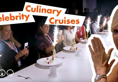 Celebrity Culinary Cruises - an one-of-a-kind cruise ship dining experience on land