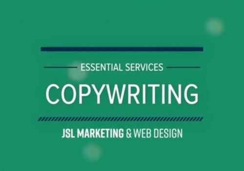 JSL Essential Services: Copywriting