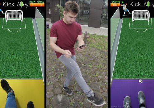 Kick Alley Soccer - AR football (soccer) application