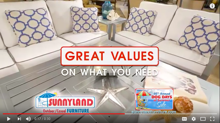 Sunnyland Patio Furniture commercial
