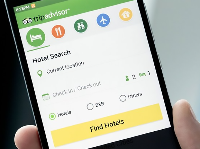 TripAdvisor provides offline app capabilities for app users