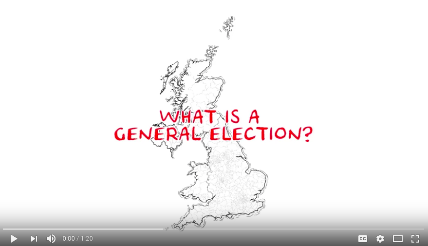 UK General Election Whiteboard Video