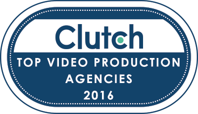 Top Video Production Agencies Badge