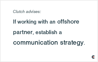 Working with an Offshore Partner