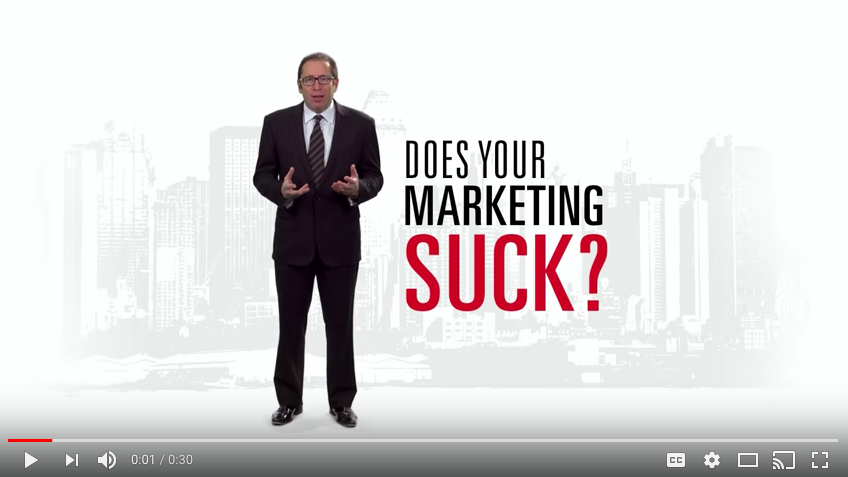 "MSCO advertisement: ""Your Marketing Sucks"""